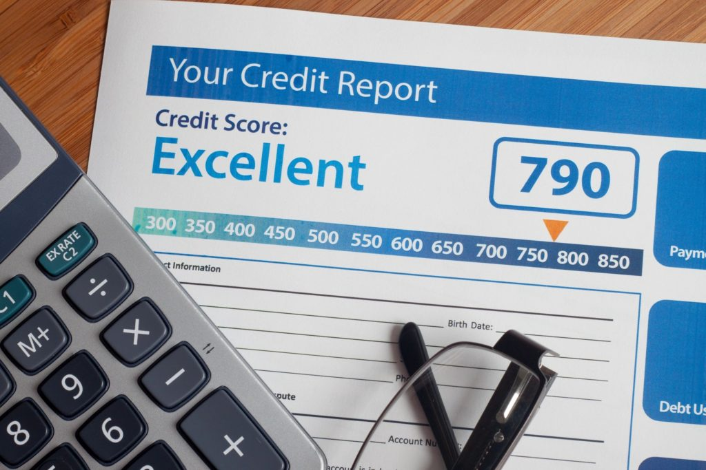credit repair letters result in high credit scores