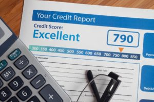 rent own credit report calculator and glasses