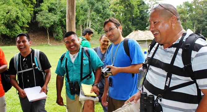 tour guide Luis Zaiden