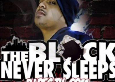 THE BLOCK NEVER SLEEPS