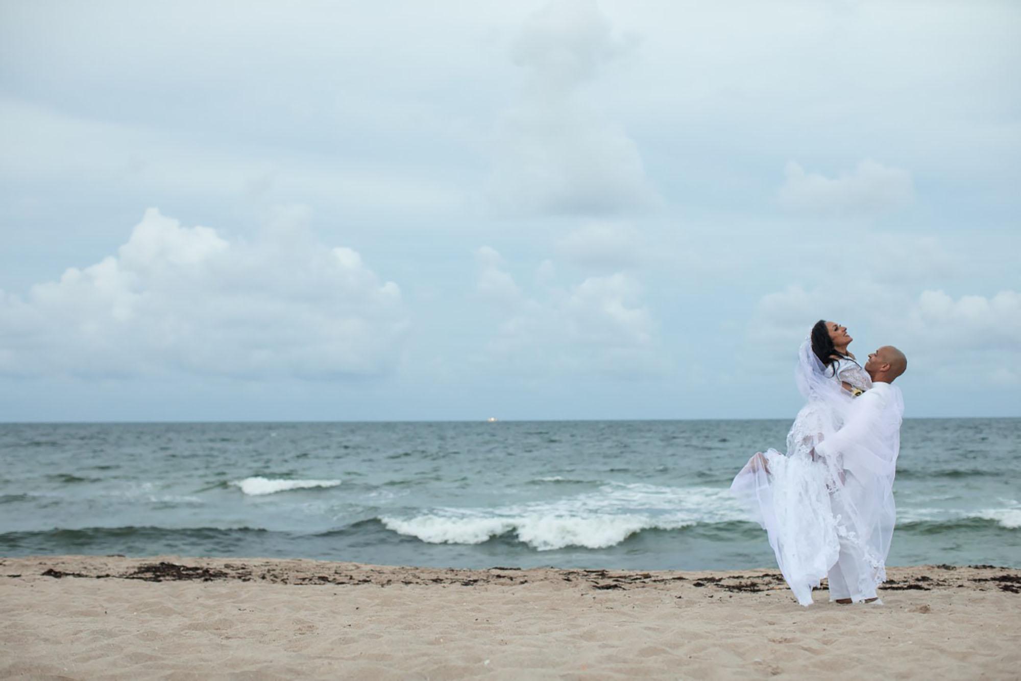 Redefined Elegance Beach Wedding