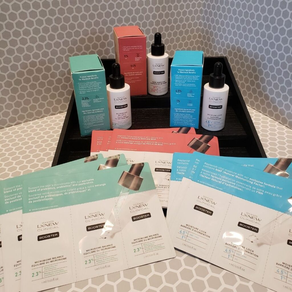 LXNEW Clinical Boosters and Samples