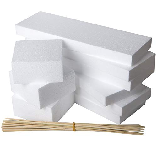 styro blocks are used as packaging fillers