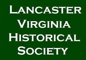 Logo for Lancaster Virginia Historical Society