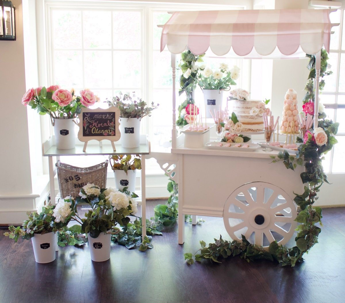 A Paris themed Bridal Shower and How I made it Bespoke