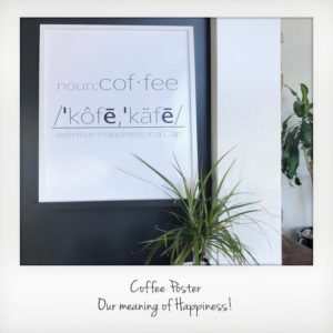 Coffee Poster Polarioid