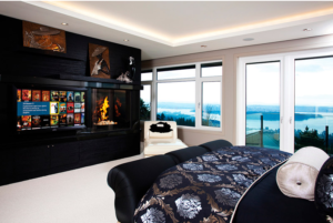 Home automation in the Master Bedroom