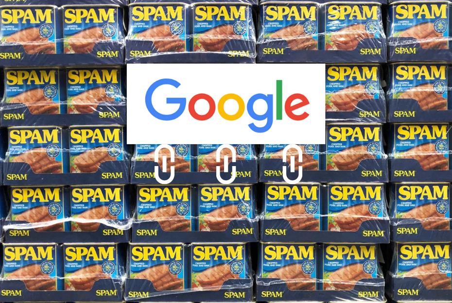 Google Link Spam