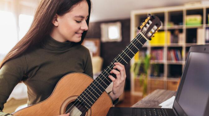 study online guitar lessons at Huber Guitar Studio