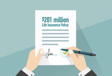 201 million dollar life insurance policy