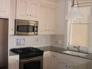 Historic Renovation in the Heart of Capitola. Big Sink with Stainless Faucet