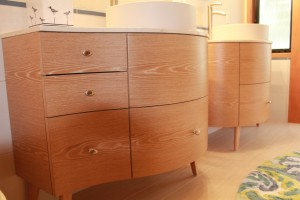 Let's celebrate those curves with these vanities