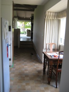 Another view of the breakfast nook