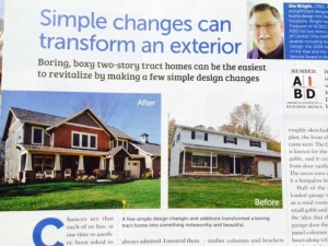 Tract Home Before/After