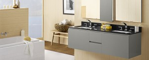 Modern and easy to clean available in three colors
