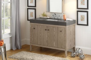 Modern and Rustic all at once. Various countertops available.