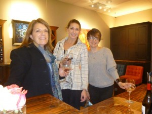 A little glass of local wine at Armitage Tasting Room in Aptos, CA