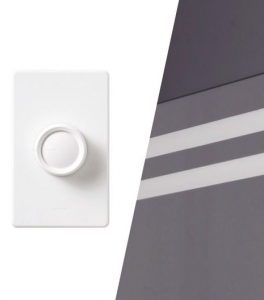 When installed with a dimmer, you can control the ambiance of your bathroom
