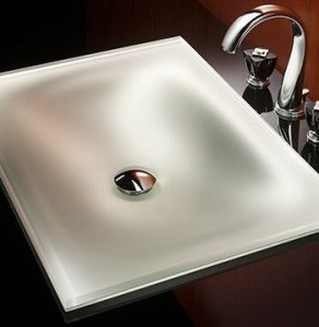 Sometimes you just want a beautiful sink. Not too fancy but something special.