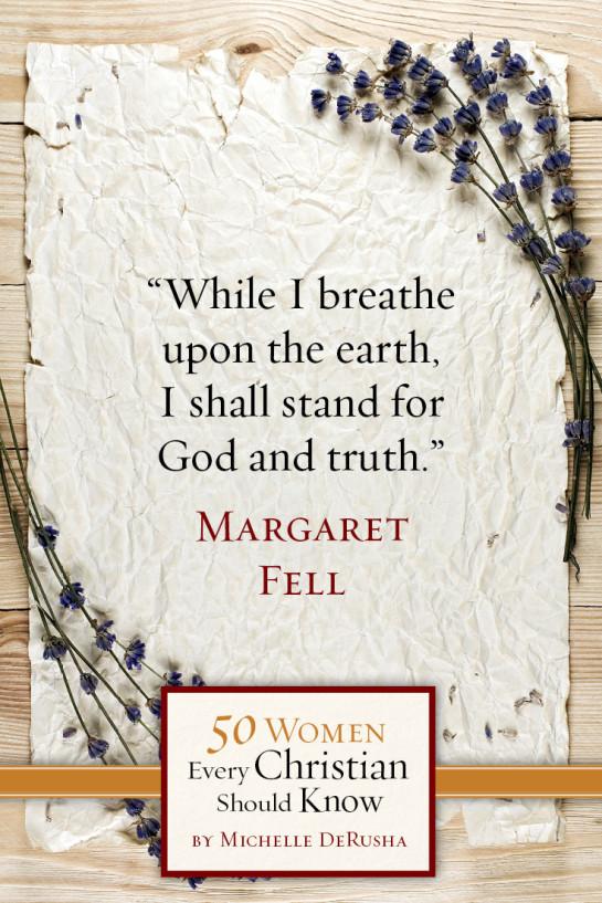 50WomenMargaretFell