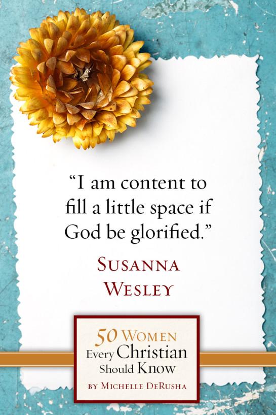50WomenSusannaWesley