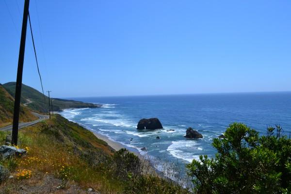 CA pacific coast highway