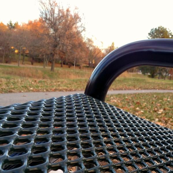 park bench2