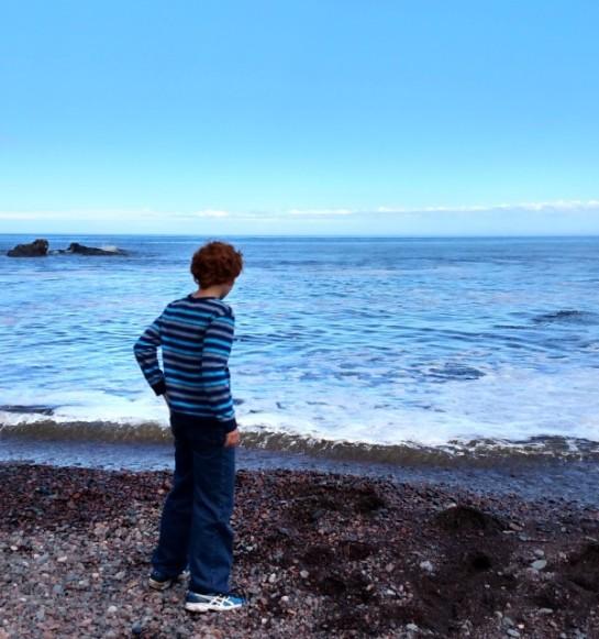 Rowan on beach2