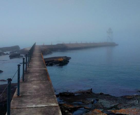 Lighthouse in fog3