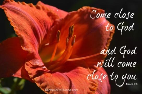 How to Come Close to God