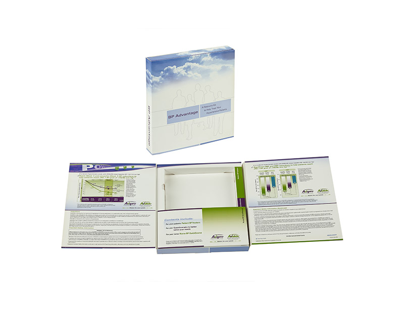 22pt Paperboard Patient Information Kit-Printed 4cp