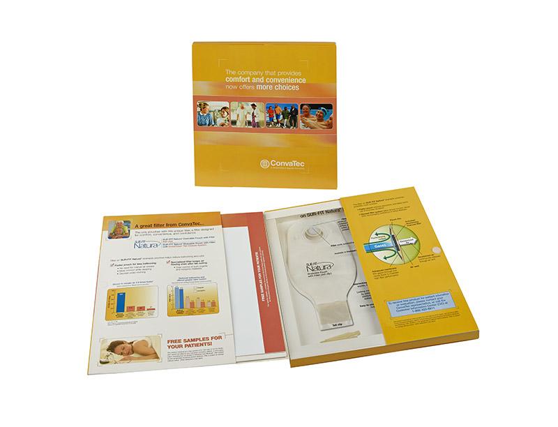 22pt Paperboard Patient Information sample kit printed 4cp