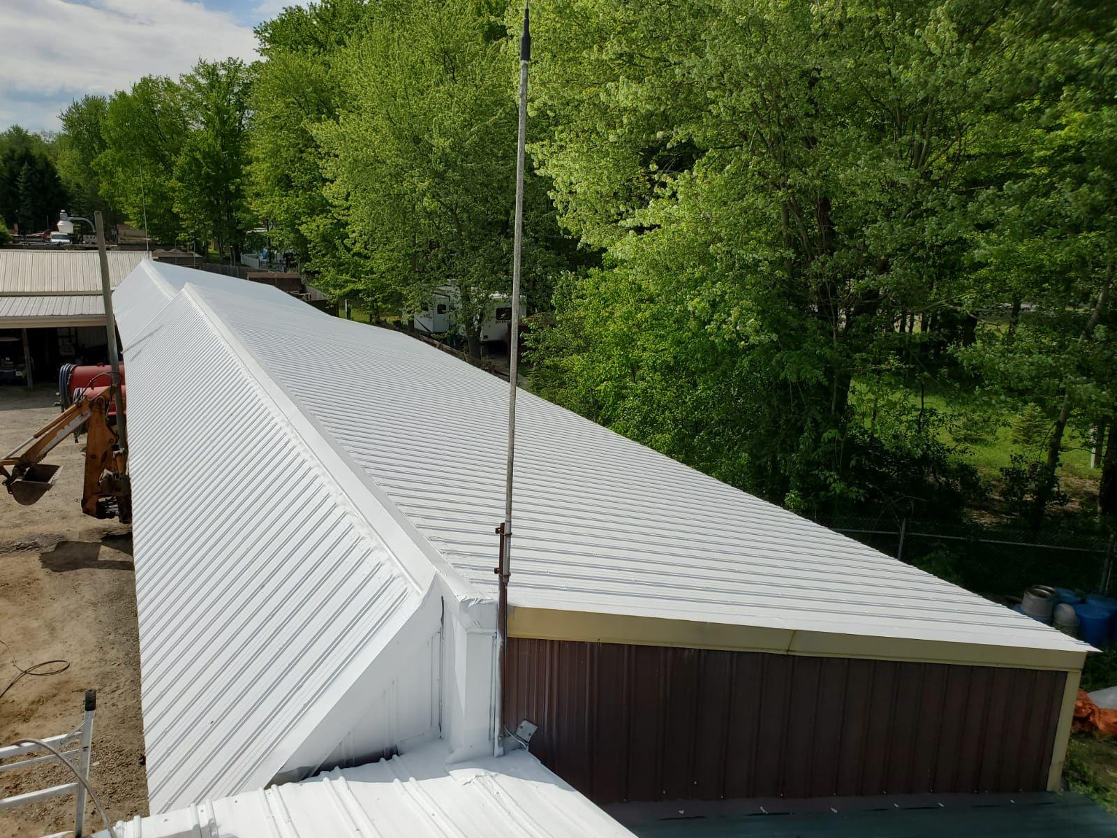 metal roof coating, acrylic roof