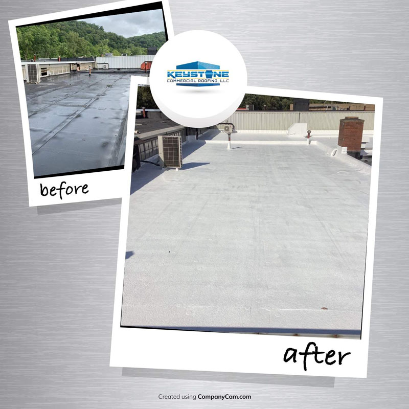 evolution construction services before & after