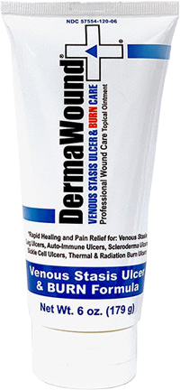 dermwound burn wound and venous stasis ulcer formula