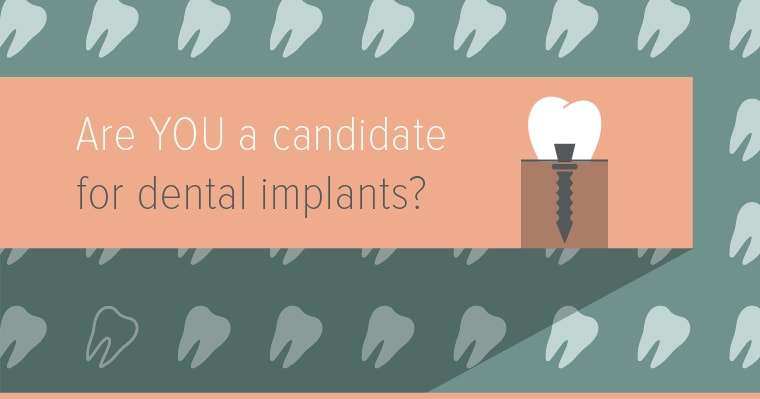 Dental implants are an ideal solution for missing teeth.
