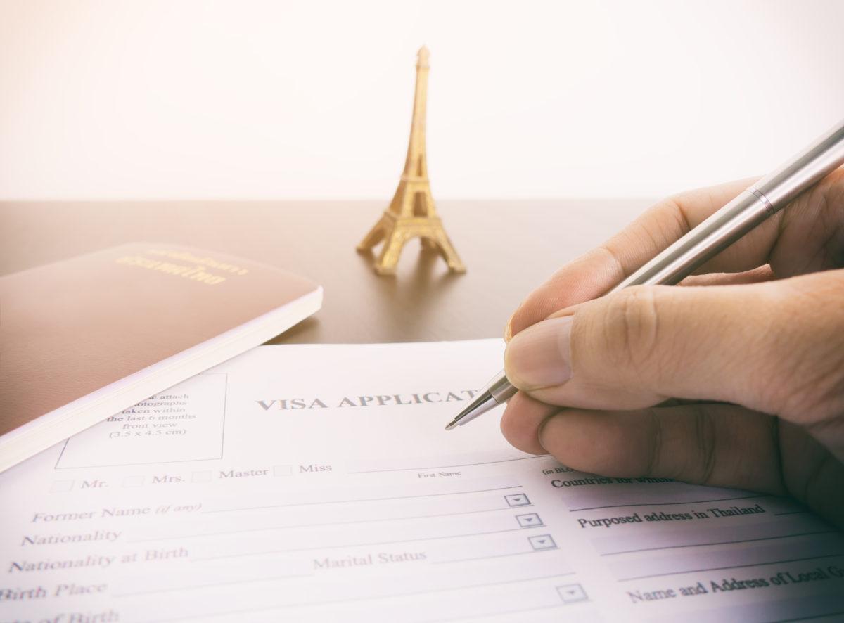 Visa Paris