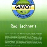 Gayot 2010 - Guide To Good Life