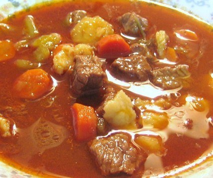 Hungarian Goulash Soup Receipe