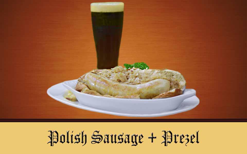 Polish Sausage Sandwich