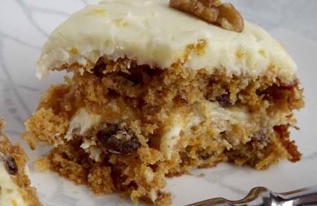 Rudi Lechners Carrot Cake Receipe