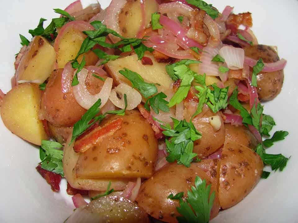 Rudi Lechners German Potato Salad Receipe
