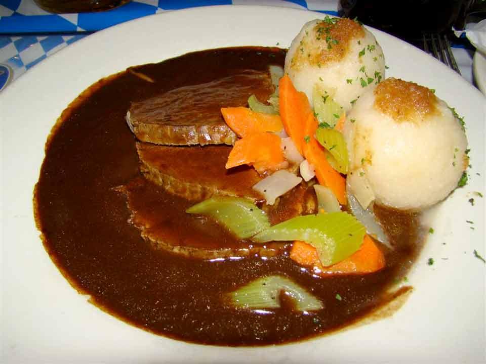 Sauerbraten with Potoatoes