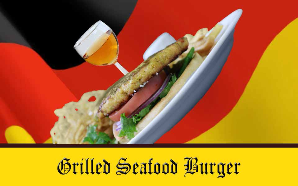 Seafood Burger Sandwich