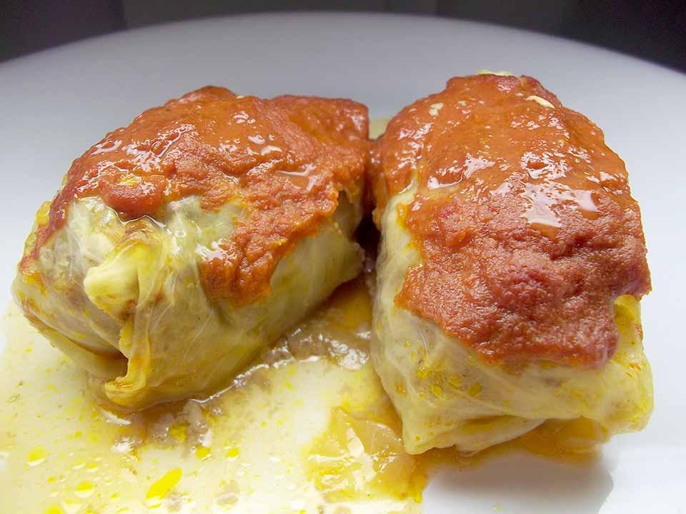 Stuffed Cabbage Rolls (2)