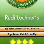 TripAdvisor 2013 - Top Rated German Cuisine Houston