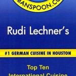 UrbanSpoon 2013 - #1German Cuisine in Houston