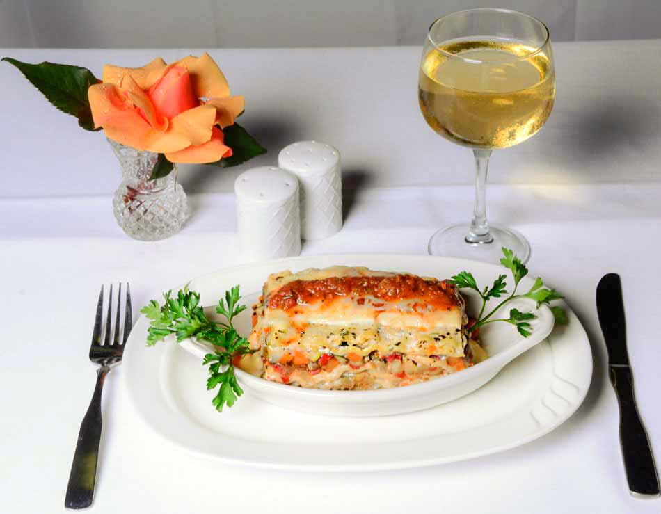 Vegetable Lasagna with Three Cheeses