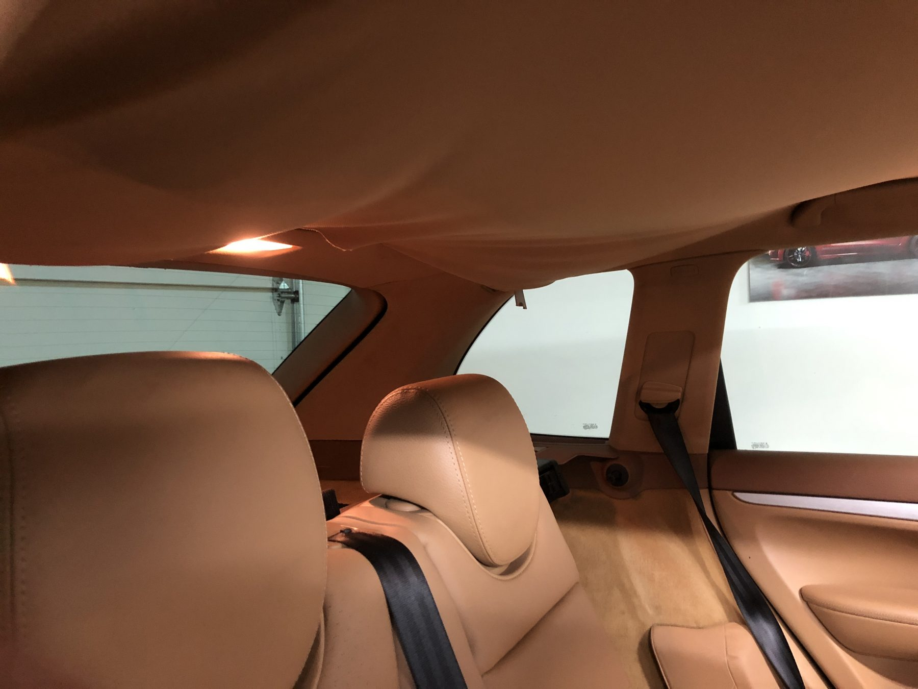 Porsche Cayenne Upholstery