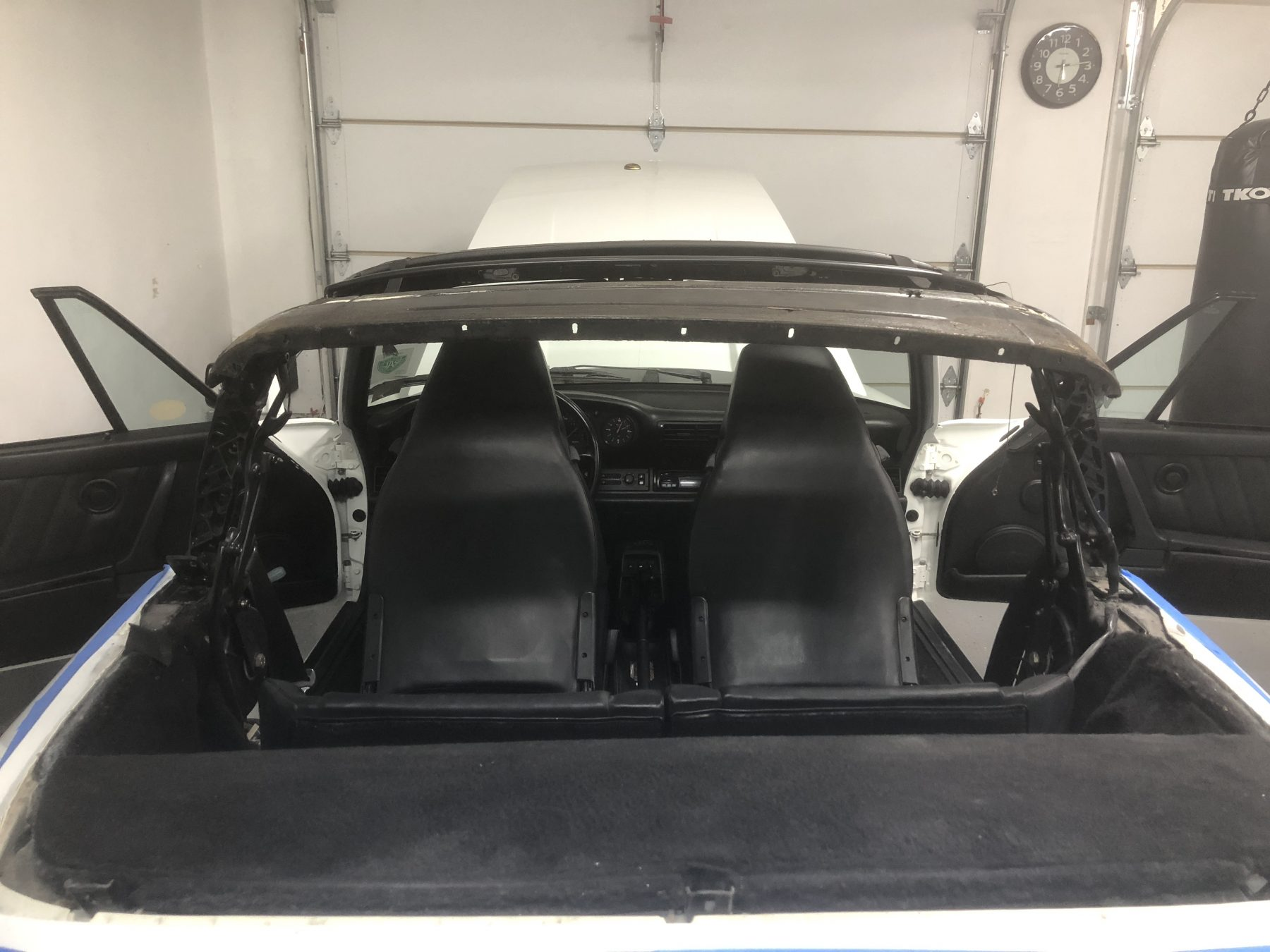 Porsche Convertible Upholstery